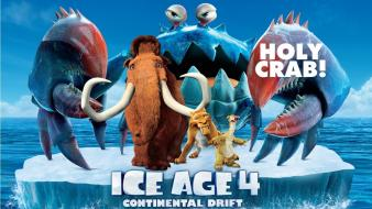 Ice age continental animated movies drift wallpaper