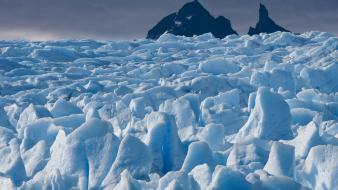 Ice landscapes nature Wallpaper