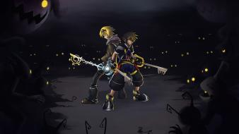 Kingdom hearts league of legends ezreal dangerous sora Wallpaper