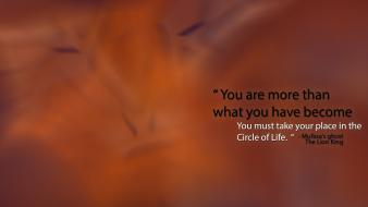 Minimalistic movies quotes the lion king mufasa wallpaper