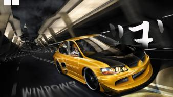 Mitsubishi lancer evo viii san wallpaper