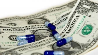 Money drugs pills wallpaper