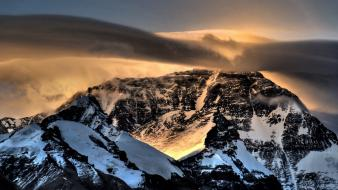 Nature snow national geographic sunlight mount everest Wallpaper