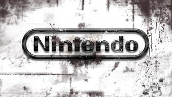 Nintendo logos wallpaper