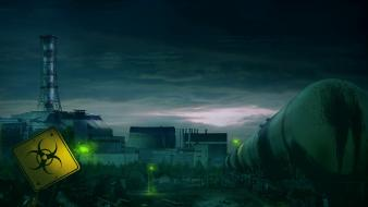 Nuclear chernobyl post apocalyptic wallpaper