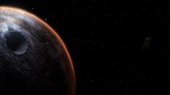 Outer space dark wallpaper
