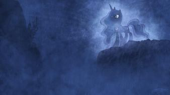 Ponies princess luna pony: friendship is magic wallpaper