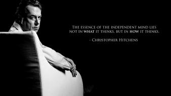 Quotes artwork christopher hitchens wallpaper