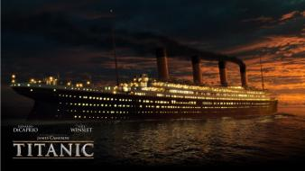 Ships titanic movie posters 3d wallpaper