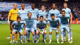 Sports manchester city football teams wallpaper