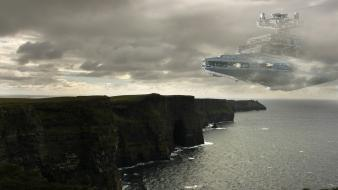 Star wars ireland destroyer cliffs of moher wallpaper