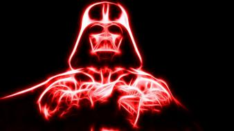 Star wars red darth vader flare wallpaper