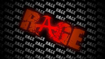 Video games black red white typography rage c9 wallpaper