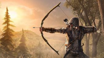 Video games bows assassins creed 3 archer Wallpaper