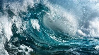 Waves seascapes Wallpaper