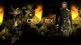 Abstract video games deus ex: human revolution cities Wallpaper