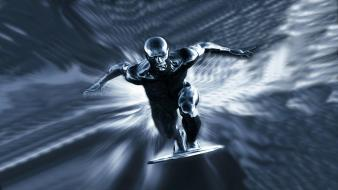 Abstract video games silver surfer Wallpaper