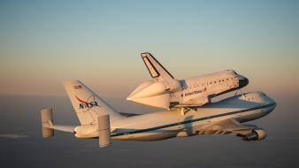 Aircraft nasa space shuttle endeavour wallpaper