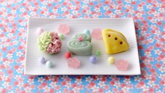 Candy colors sweets wallpaper