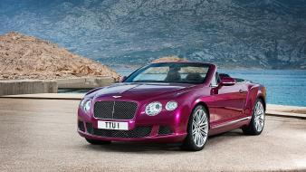Cars convertible bentley continental gt 2013 wallpaper