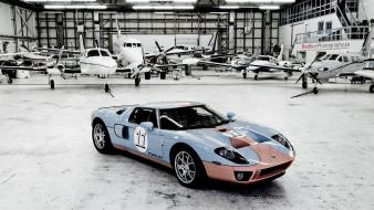 Cars ford gt hangar gt40 wallpaper