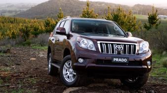 Cars toyota prado auto wallpaper