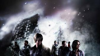 Characters resident evil 6 wallpaper
