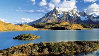 Chile nature paine torres wallpaper