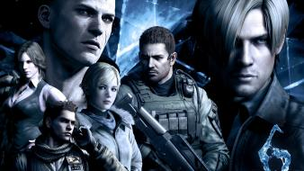 Chris redfield sherry birkin helena 6 jake wallpaper