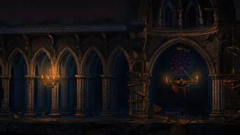 Church castlevania: lords of shadow - mirror fate wallpaper