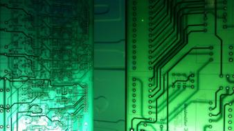 Electronics circuit board Wallpaper