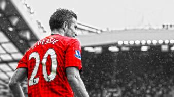 Fc robin van persie premier league cutout Wallpaper