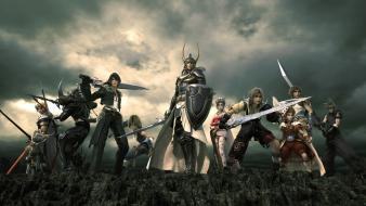 Final fantasy video games dissidia wallpaper