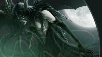 Hair green eyes espada claws ulquiorra cifer wallpaper
