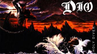 Heavy metal dio holy diver wallpaper