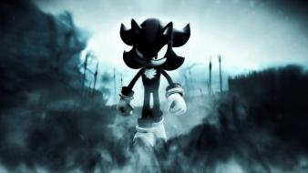 Hedgehog video games assassins dark smoke shadows wallpaper