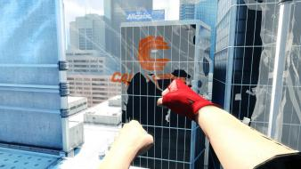 Mirrors edge first person wallpaper