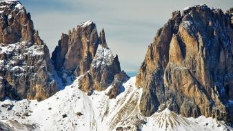 Mountains landscapes snow italy alps wallpaper