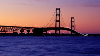 Nature bridges michigan wallpaper