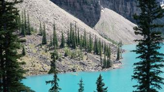 Nature canada alberta banff national park moraine lake Wallpaper
