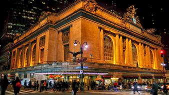 New york city manhattan grand central terminal wallpaper