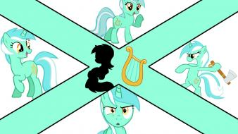Number pony: friendship is magic lyra heartstrings wallpaper