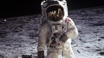 Outer space moon 1969 apollo landing buzz aldrin wallpaper