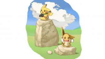 Pokemon pikachu eevee mystery dungeon wallpaper