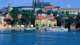 Prague czech republic sightseeing Wallpaper