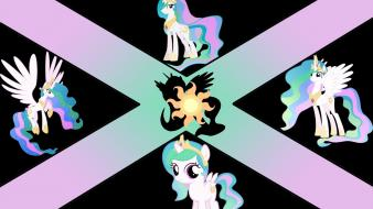 Princess celestia number pony: friendship is magic wallpaper