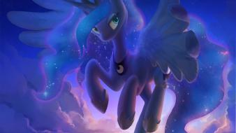 Princess luna celebi pony: friendship is magic Wallpaper