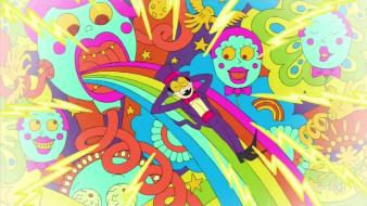 Rainbows superjail the warden wallpaper