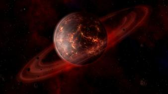 Saturn artwork digital blasphemy agni 3d 2003 wallpaper