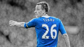 Selective coloring premier league cutout john terry Wallpaper